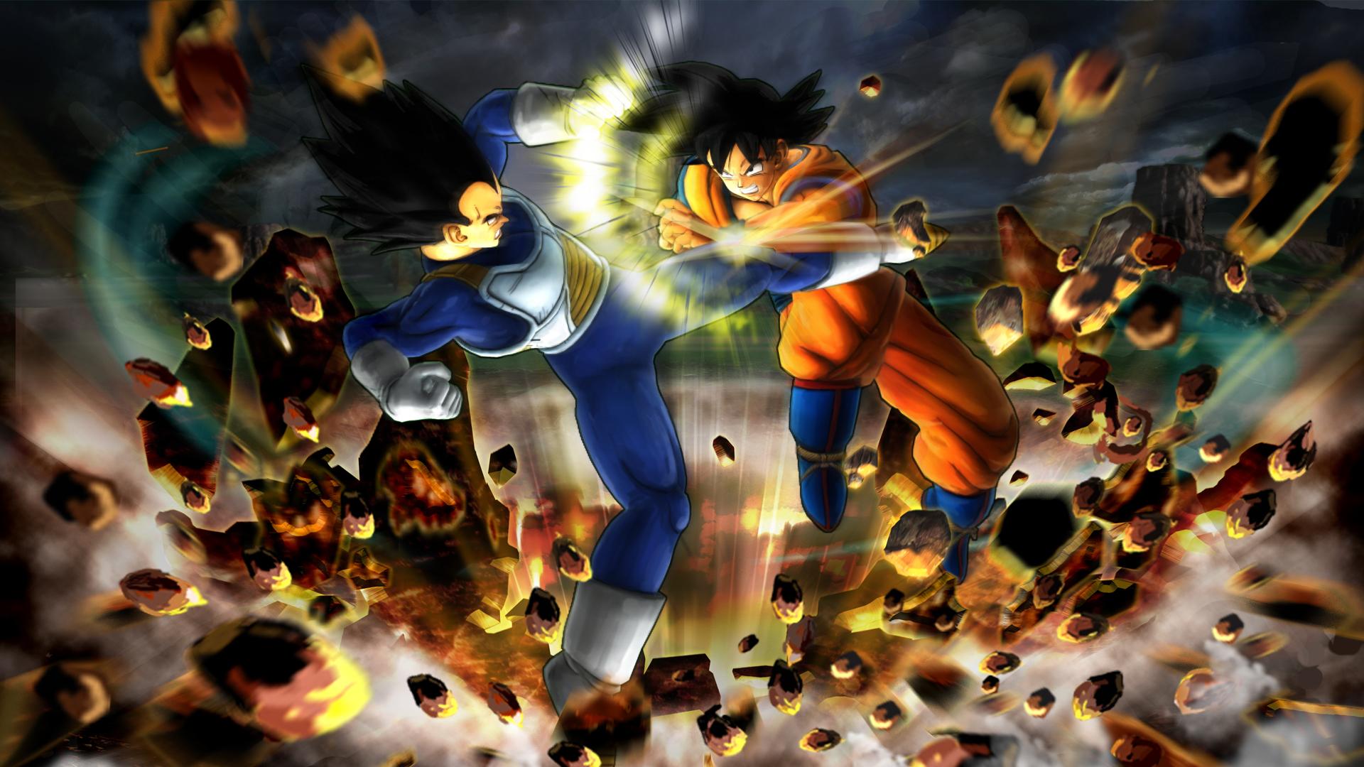 3D Fight Wallpaper  Dragon Ball Z Wallpapers HD Anime